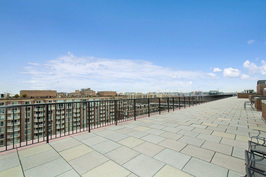 Real Estate Photography - 510 SW N St, Apt N625, Washington, DC, 20024 - Roof Deck
