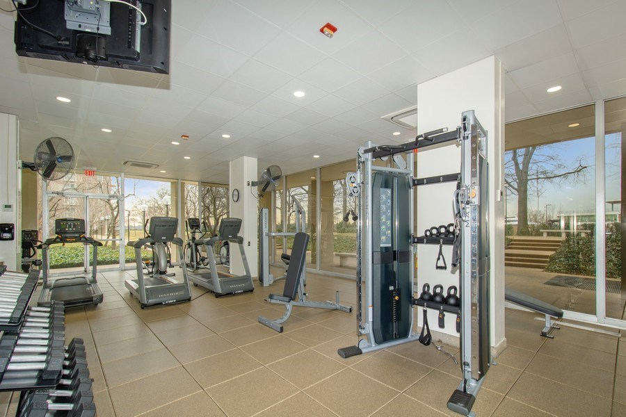 Real Estate Photography - 510 SW N St, Apt N625, Washington, DC, 20024 - Fitness Center