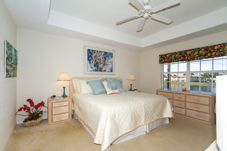 Real Estate Photography - 2285 Harmony Ln, Unit 203, Naples, FL, 34109 - Master Bedroom