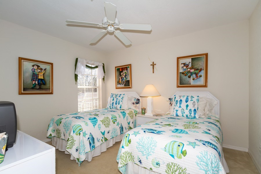 Real Estate Photography - 2285 Harmony Ln, Unit 203, Naples, FL, 34109 - Bedroom