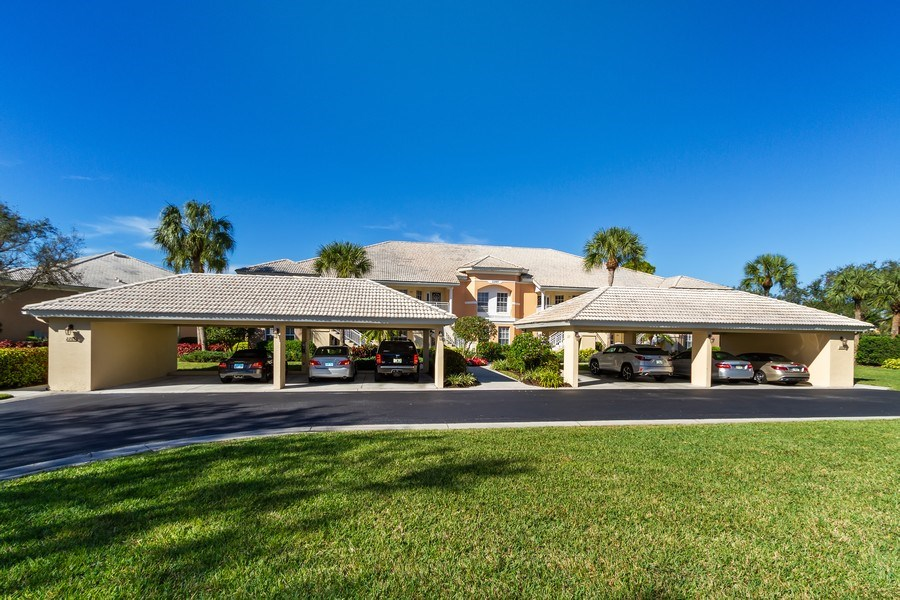 Real Estate Photography - 2285 Harmony Ln, Unit 203, Naples, FL, 34109 - Front View
