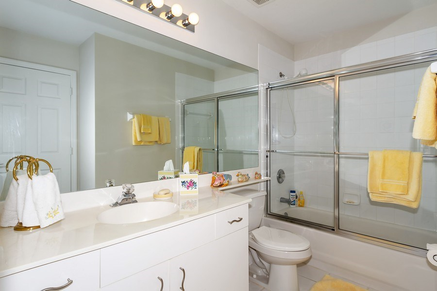 Real Estate Photography - 2285 Harmony Ln, Unit 203, Naples, FL, 34109 - Bathroom