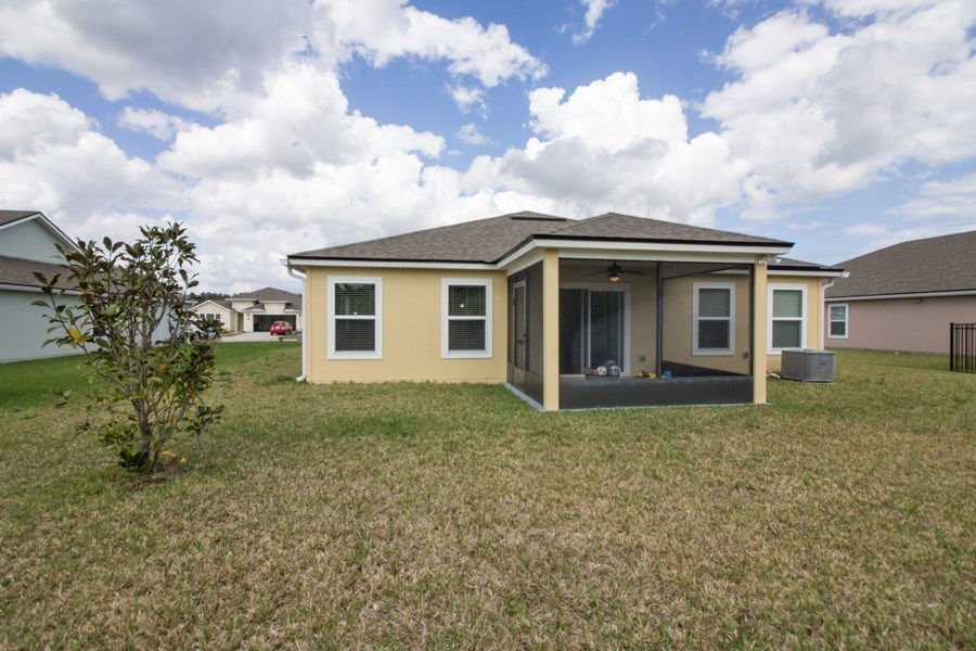 Real Estate Photography - 227 Grand Reserve Dr, Bunnell, FL, 32110 - Rear View