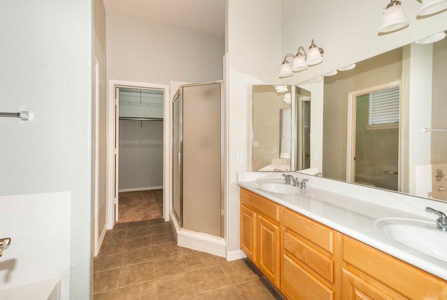 Real Estate Photography - 17685 W Eagle Dr, Goodyear, AZ, 85338 - Master Bathroom