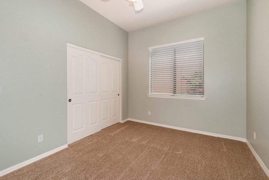 Real Estate Photography - 17685 W Eagle Dr, Goodyear, AZ, 85338 - 2nd Bedroom
