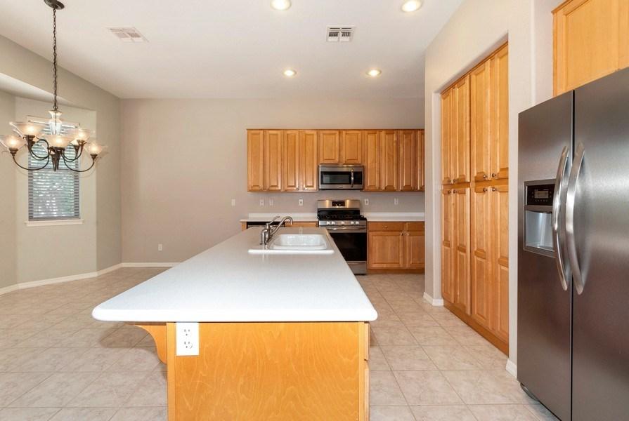 Real Estate Photography - 17685 W Eagle Dr, Goodyear, AZ, 85338 - Kitchen