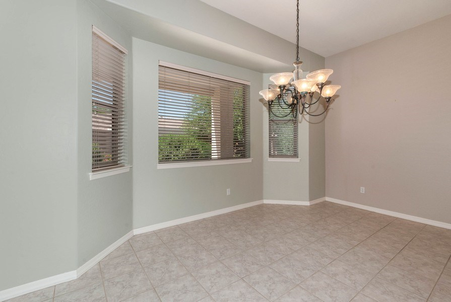 Real Estate Photography - 17685 W Eagle Dr, Goodyear, AZ, 85338 - Dining Room
