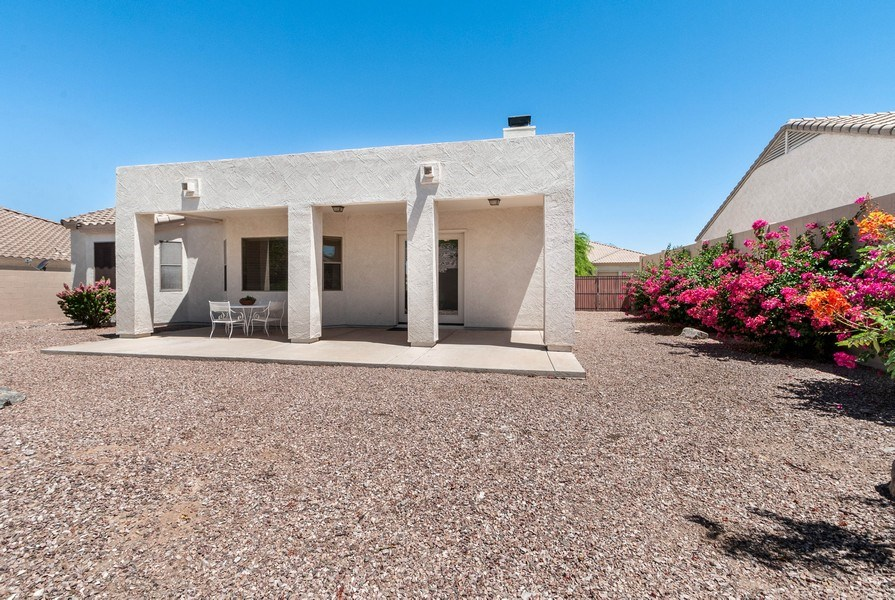 Real Estate Photography - 17685 W Eagle Dr, Goodyear, AZ, 85338 - Rear View