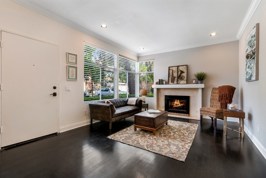 Real Estate Photography - 19431 Rue De Balore, Unit 14A, Lake Forest, CA, 92610 - Living Room