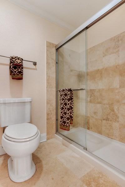 Real Estate Photography - 19431 Rue De Balore, Unit 14A, Lake Forest, CA, 92610 - Master Bathroom