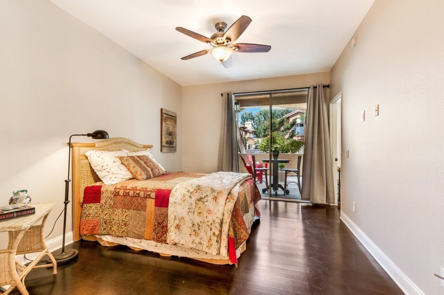 Real Estate Photography - 19431 Rue De Balore, Unit 14A, Lake Forest, CA, 92610 - Master Bedroom