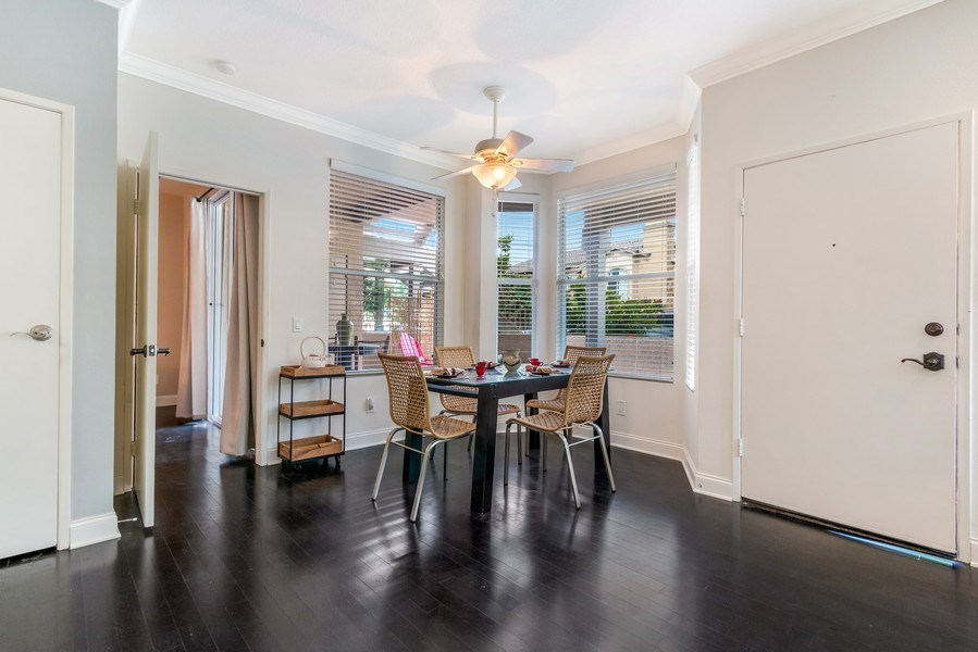 Real Estate Photography - 19431 Rue De Balore, Unit 14A, Lake Forest, CA, 92610 - Dining Room