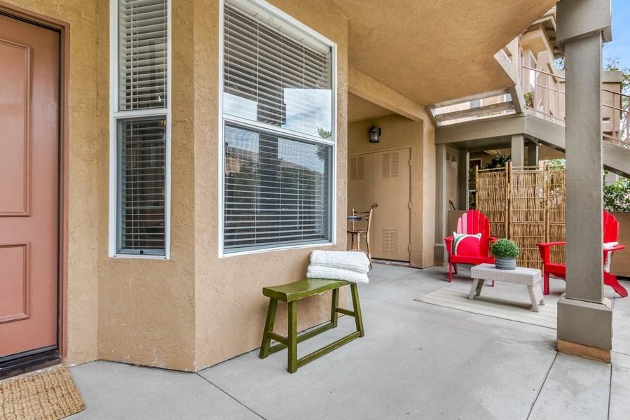 Real Estate Photography - 19431 Rue De Balore, Unit 14A, Lake Forest, CA, 92610 - Patio