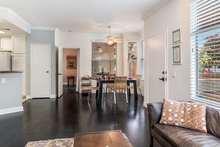 Real Estate Photography - 19431 Rue De Balore, Unit 14A, Lake Forest, CA, 92610 - Living Room/Dining Room
