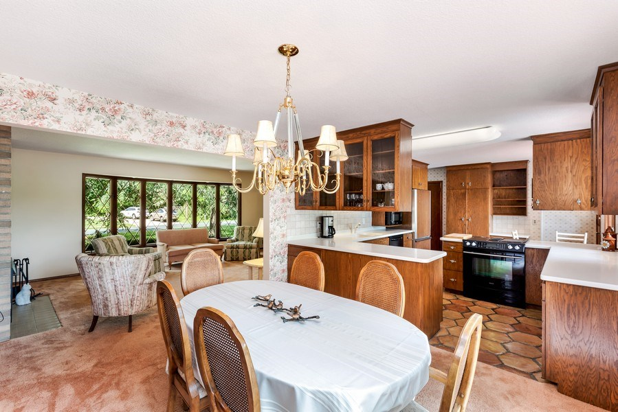 Real Estate Photography - 1162 82nd Street E, Inver Grove Heights, MN, 55077 - Kitchen / Dining Room