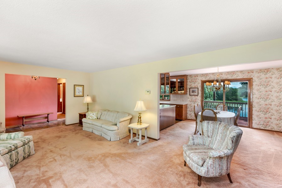 Real Estate Photography - 1162 82nd Street E, Inver Grove Heights, MN, 55077 - Living Room / Dining Room