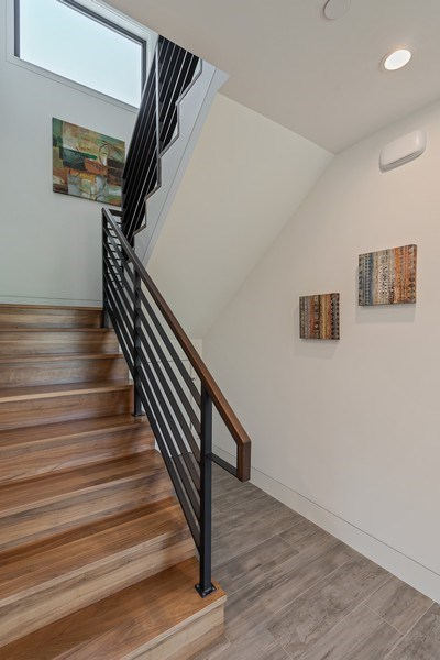 Real Estate Photography - 2045 Nassau Dr, Redwood City, CA, 94061 - Staircase