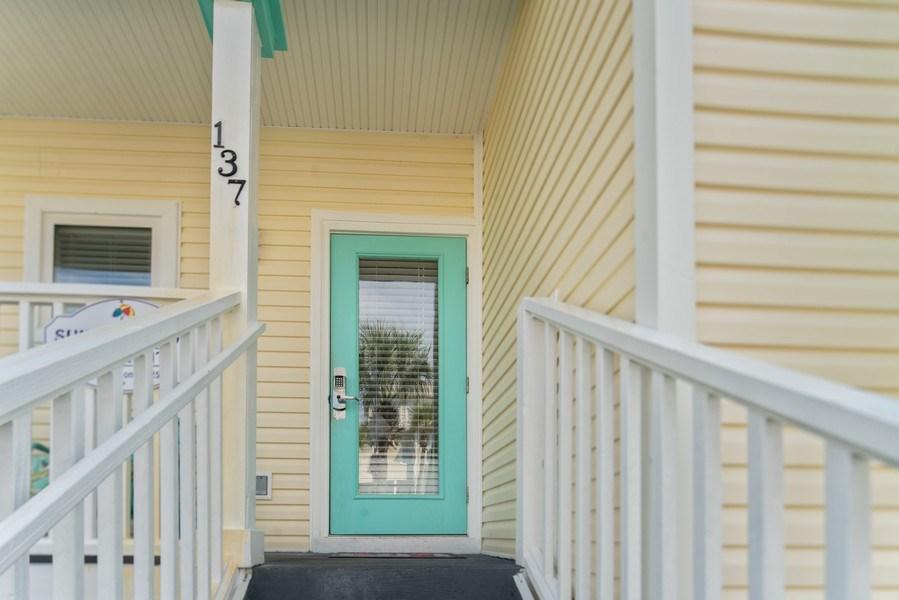 Real Estate Photography - 137 Gulfside Way, Miramar Beach, FL, 32550 - Entrance