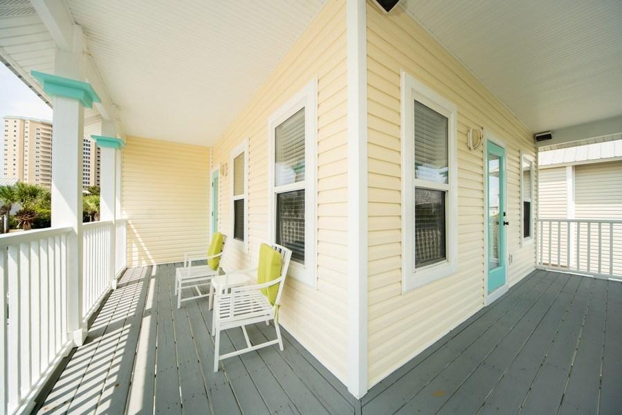 Real Estate Photography - 137 Gulfside Way, Miramar Beach, FL, 32550 - Deck