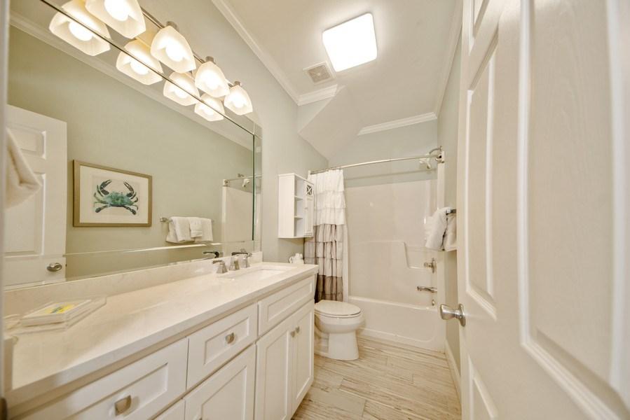 Real Estate Photography - 137 Gulfside Way, Miramar Beach, FL, 32550 - 2nd Bathroom