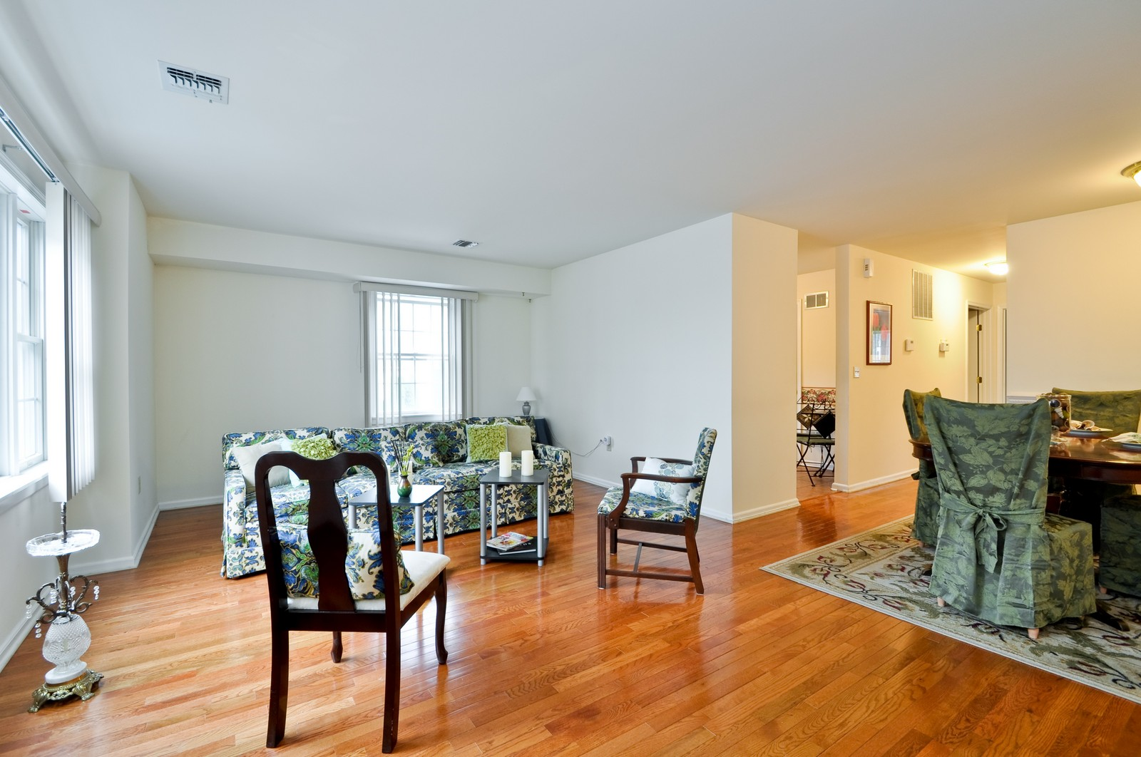 Real Estate Photography - 179 Roseland Avenue, 6, Caldwell, NJ, 07006 - Living Room