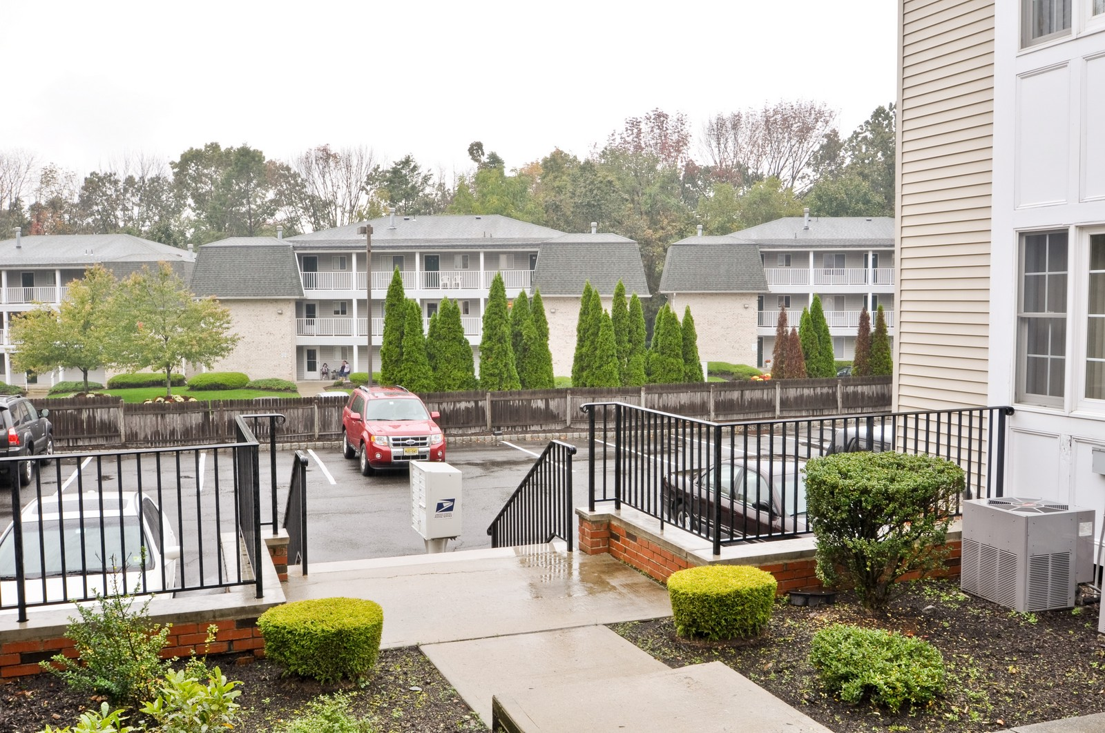 Real Estate Photography - 179 Roseland Avenue, 6, Caldwell, NJ, 07006 - Parking Area