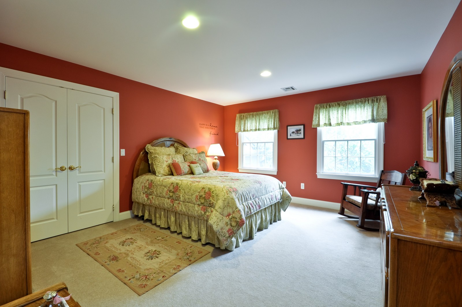 Real Estate Photography - 5 Orchard Way, Warren, NJ, 07059 - 2nd Bedroom