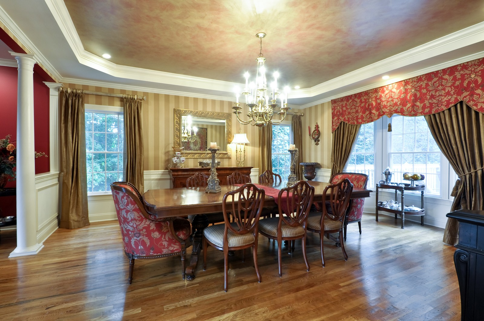 Real Estate Photography - 5 Orchard Way, Warren, NJ, 07059 - Dining Room