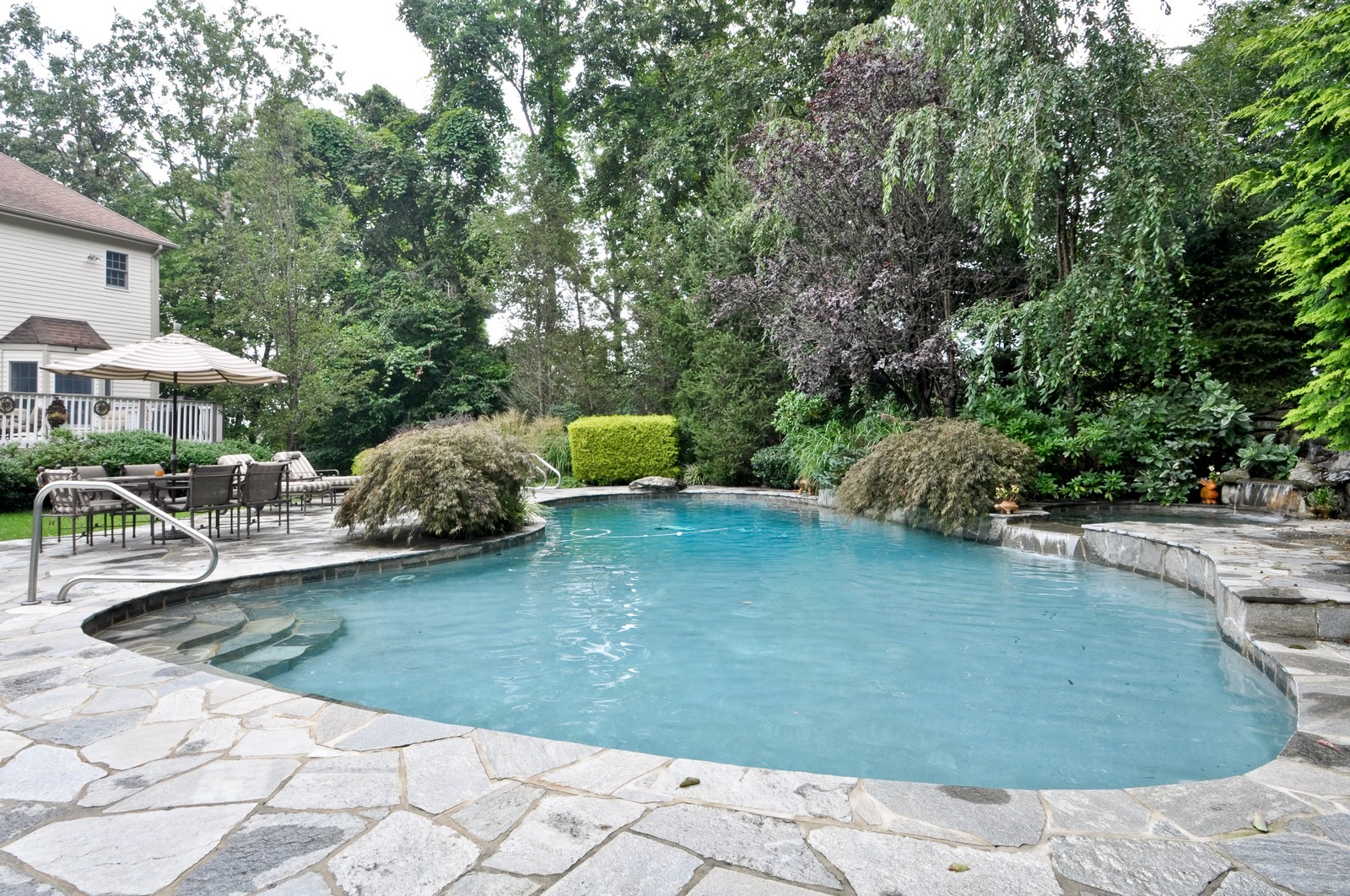 Real Estate Photography - 5 Orchard Way, Warren, NJ, 07059 - Pool