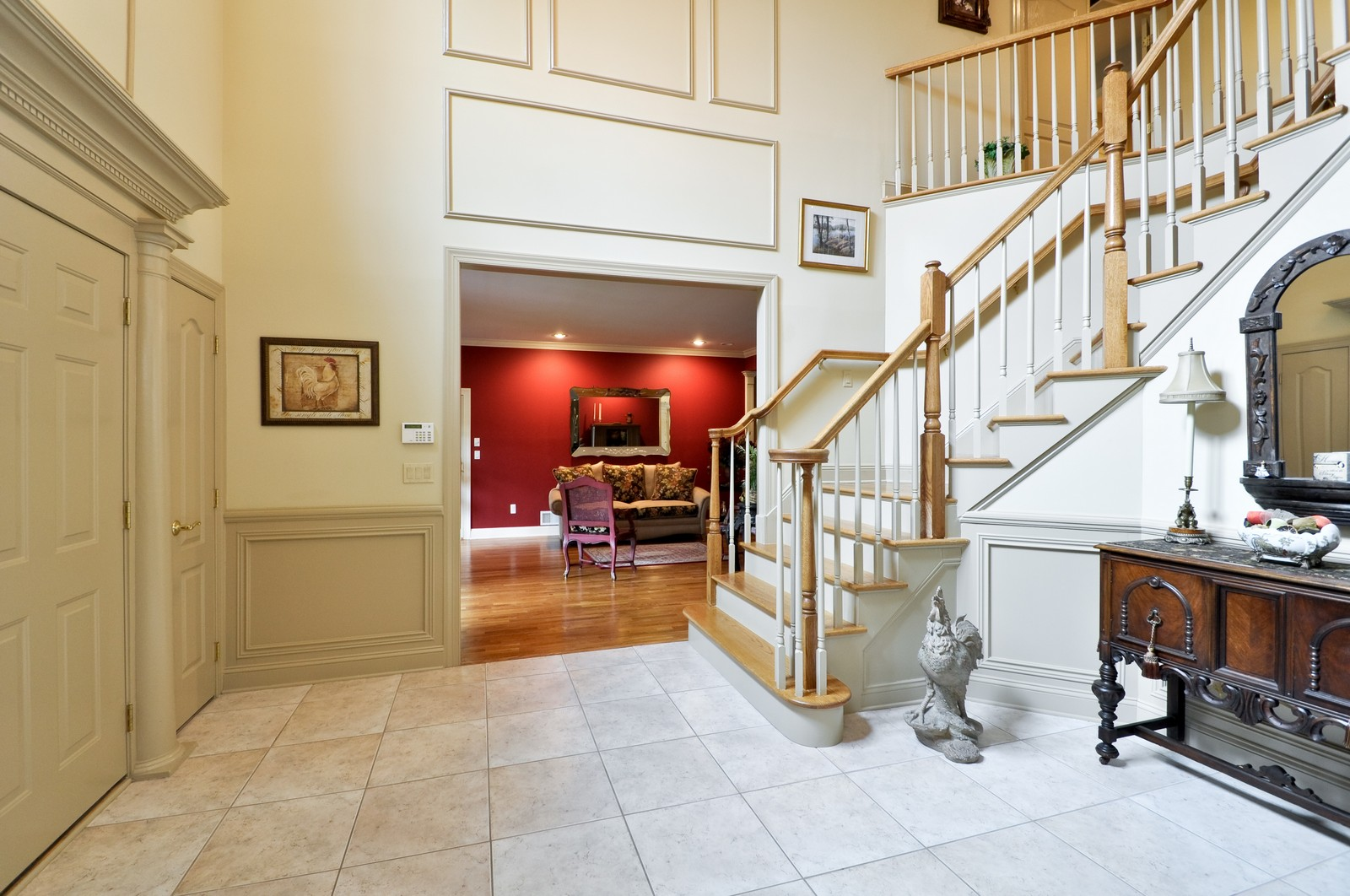 Real Estate Photography - 5 Orchard Way, Warren, NJ, 07059 - Foyer