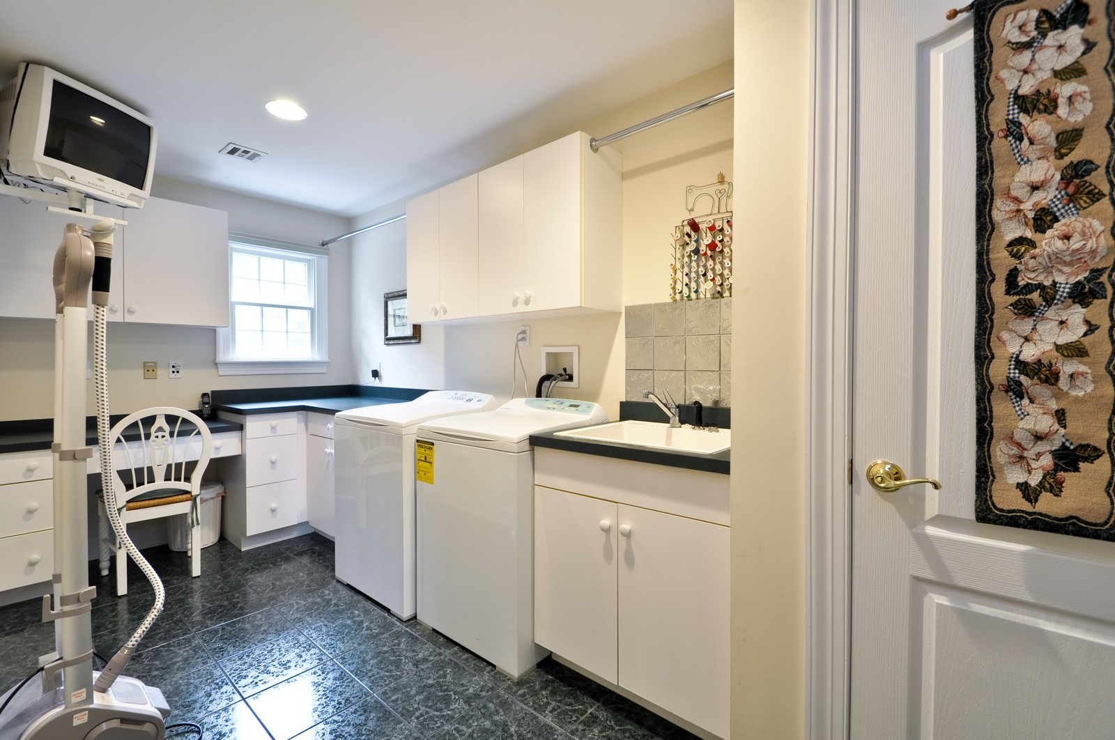 Real Estate Photography - 5 Orchard Way, Warren, NJ, 07059 - Laundry Room
