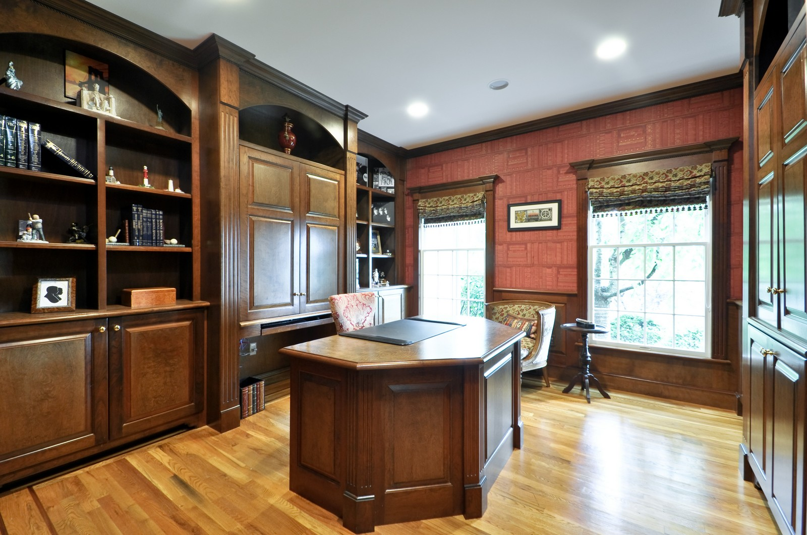 Real Estate Photography - 5 Orchard Way, Warren, NJ, 07059 - Study