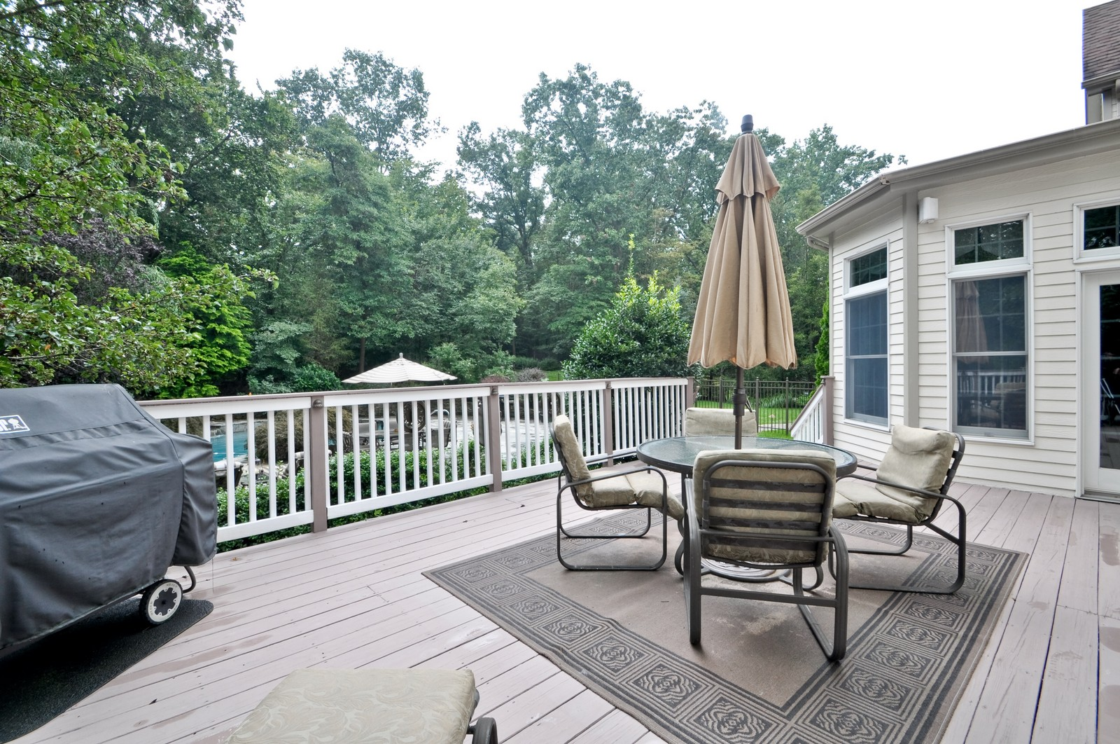 Real Estate Photography - 5 Orchard Way, Warren, NJ, 07059 - Deck