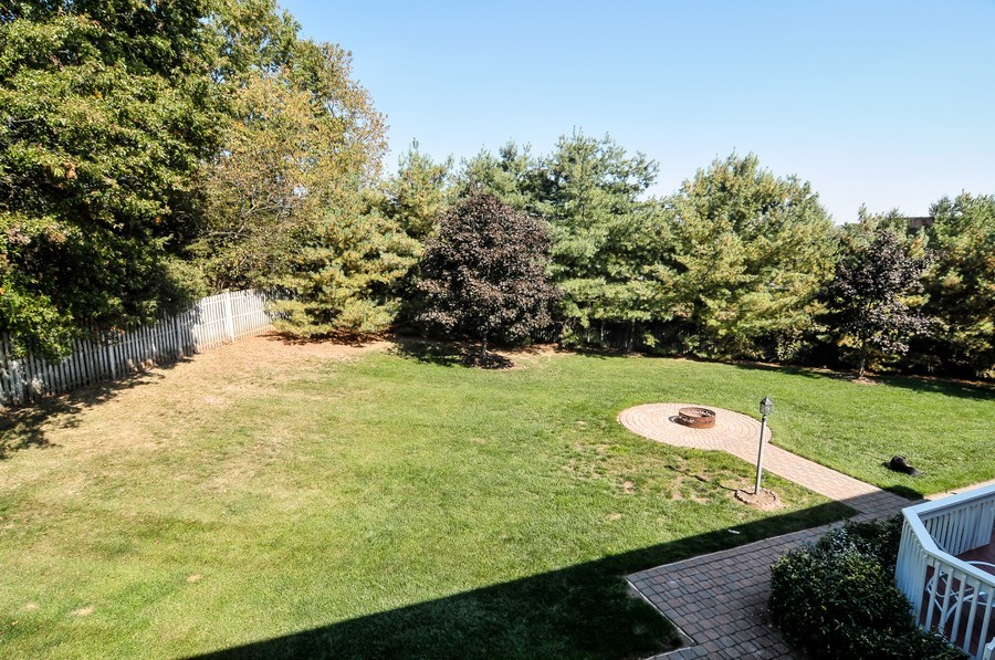 Real Estate Photography - 4 Desiree Ct, Bedminster, NJ, 07921 - Back Yard