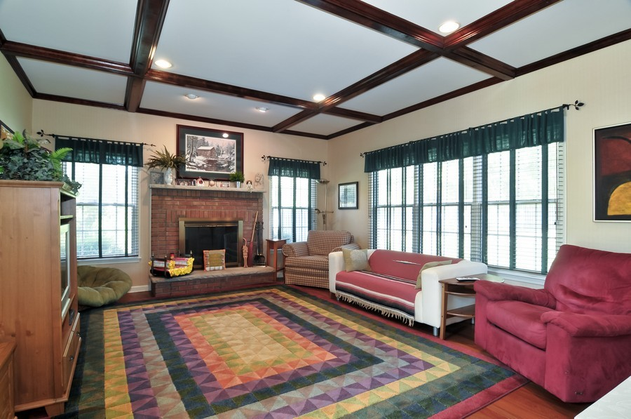 Real Estate Photography - 4 Desiree Ct, Bedminster, NJ, 07921 - Family Room