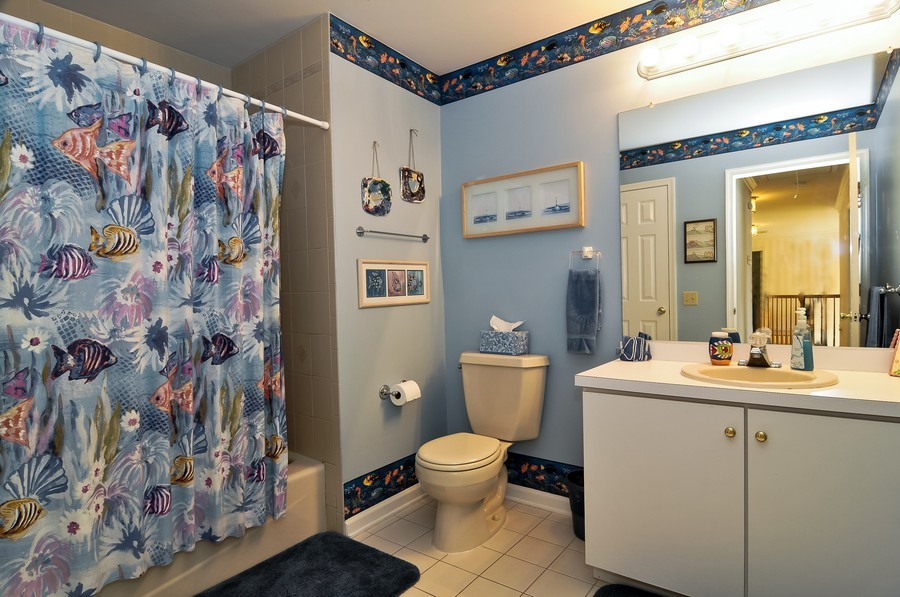 Real Estate Photography - 4 Desiree Ct, Bedminster, NJ, 07921 - 2nd Bathroom