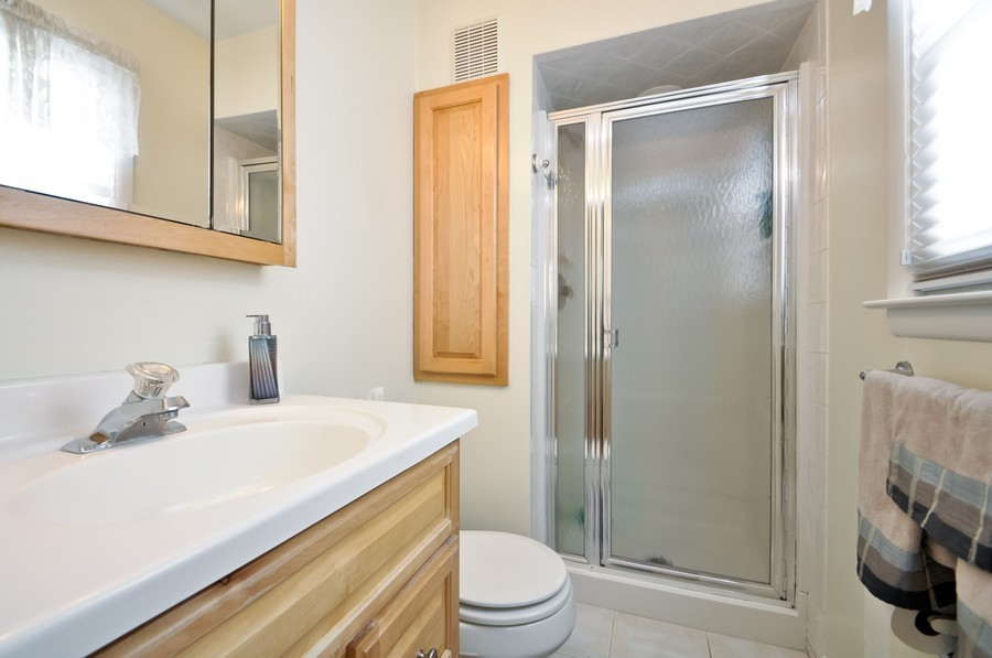 Real Estate Photography - 6 Riley Rd, Morganville, NJ, 07751 - Master Bathroom
