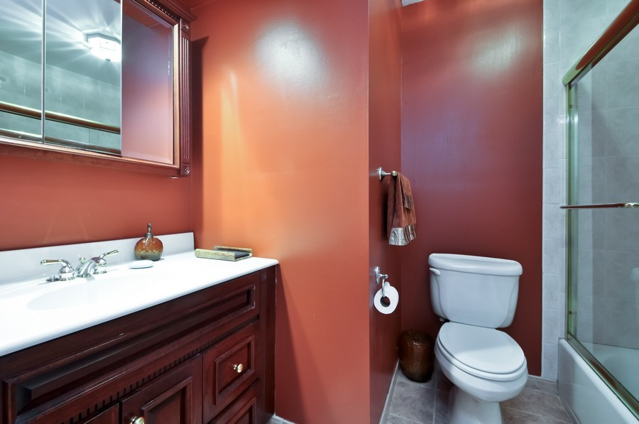 Real Estate Photography - 6 Riley Rd, Morganville, NJ, 07751 - 2nd Bathroom
