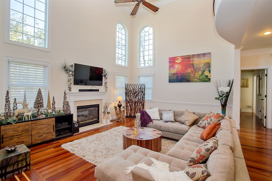 Real Estate Photography - 4 Robbie La, Mountainside, NJ, 07092 - Family Room