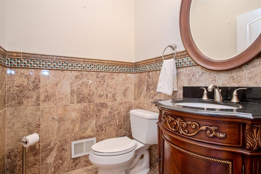 Real Estate Photography - 4 Robbie La, Mountainside, NJ, 07092 - Half Bath