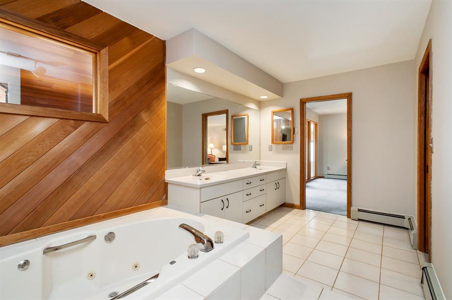 Real Estate Photography - 1066 Mayflower Ct, Martinsville, NJ, 08836 - Master Bathroom