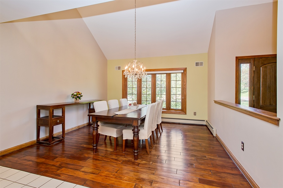 Real Estate Photography - 1066 Mayflower Ct, Martinsville, NJ, 08836 - Dining Room
