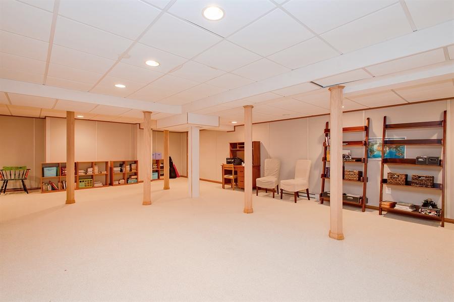 Real Estate Photography - 1066 Mayflower Ct, Martinsville, NJ, 08836 - Basement