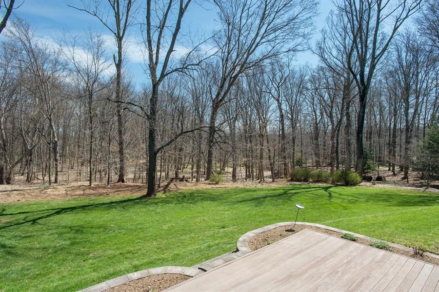 Real Estate Photography - 1066 Mayflower Ct, Martinsville, NJ, 08836 - Back Yard