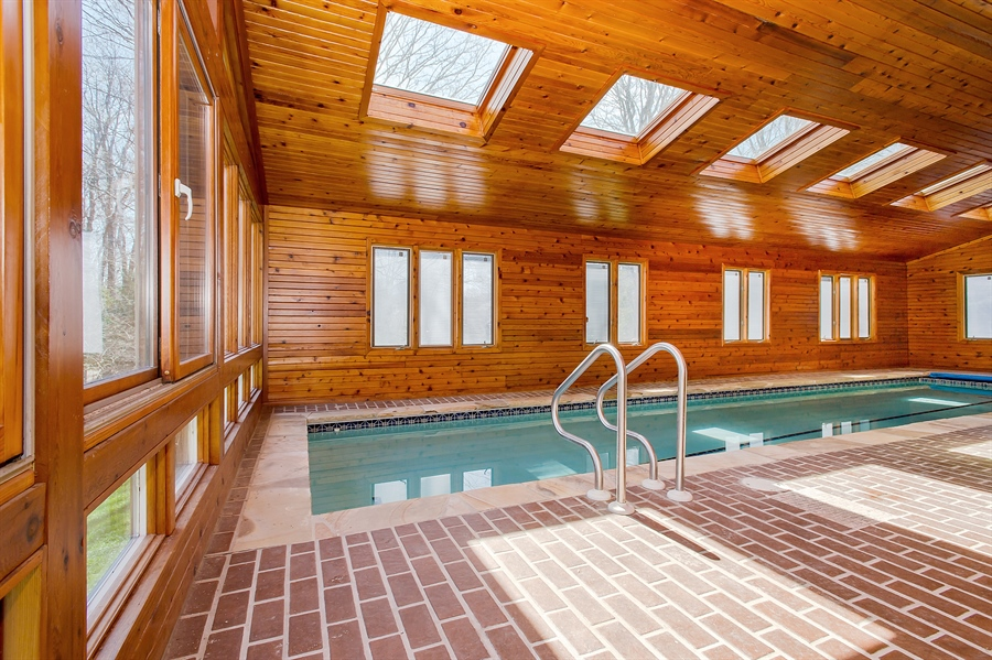 Real Estate Photography - 1066 Mayflower Ct, Martinsville, NJ, 08836 - Pool