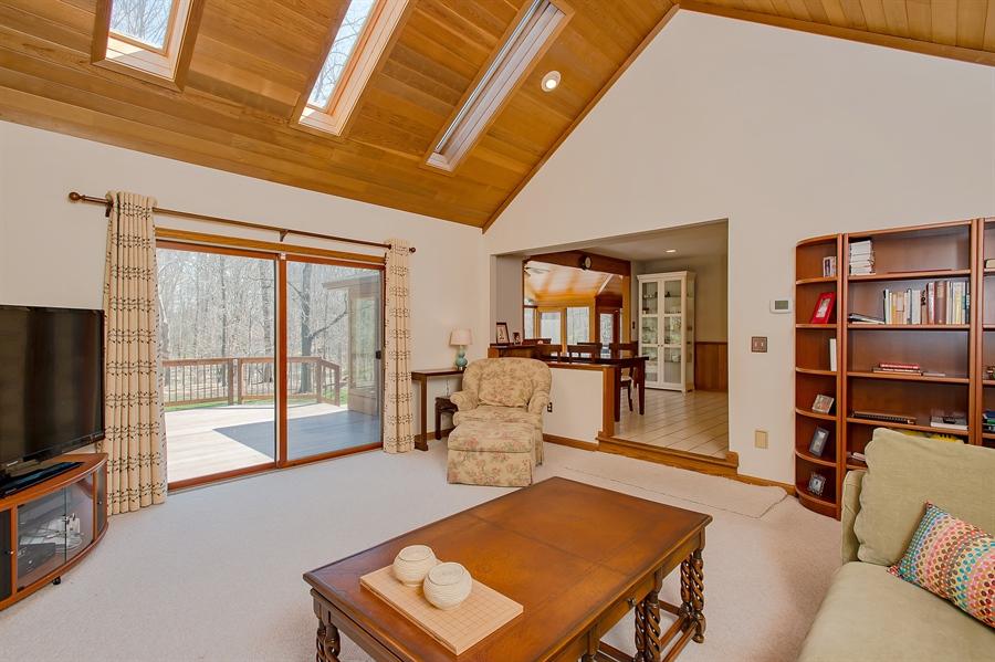 Real Estate Photography - 1066 Mayflower Ct, Martinsville, NJ, 08836 - Family Room