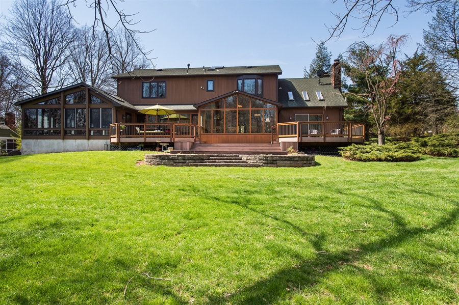 Real Estate Photography - 1066 Mayflower Ct, Martinsville, NJ, 08836 - Rear View