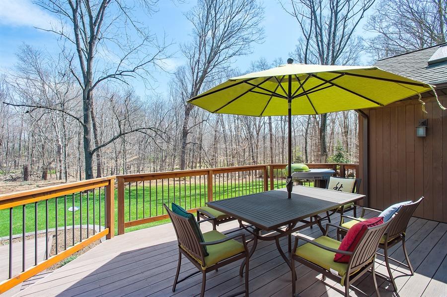 Real Estate Photography - 1066 Mayflower Ct, Martinsville, NJ, 08836 - Deck