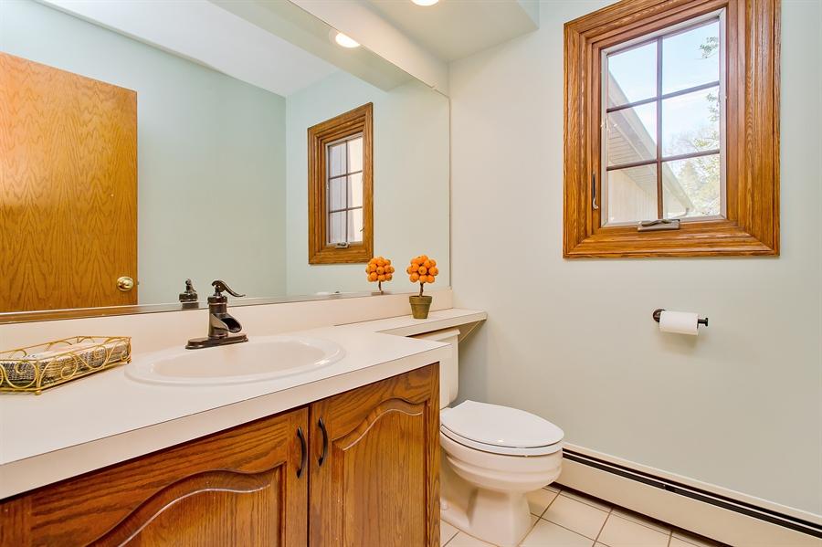 Real Estate Photography - 1066 Mayflower Ct, Martinsville, NJ, 08836 - Half Bath