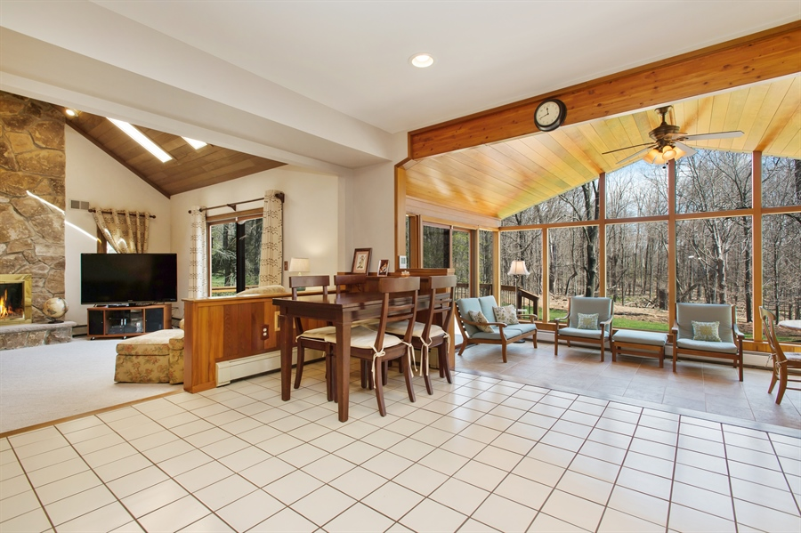 Real Estate Photography - 1066 Mayflower Ct, Martinsville, NJ, 08836 - Family Room / Kitchen